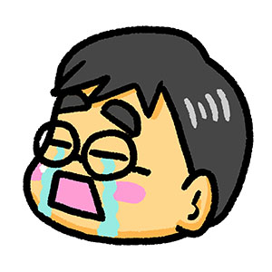 リョウ泣き顔